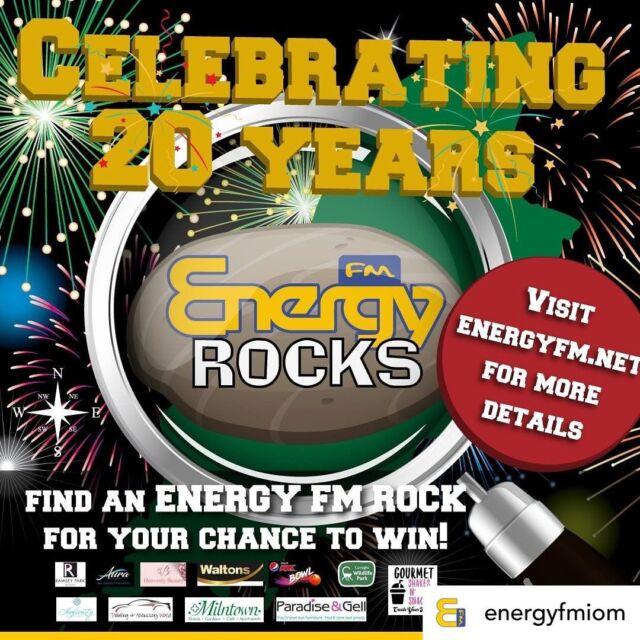 Celebrating 20 years of #EnergyFM! 📻  - - #20 #20thbirthday #iom #radio