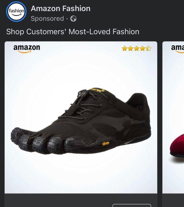 Surely not… - - - #fashion #bigfoot #amazon